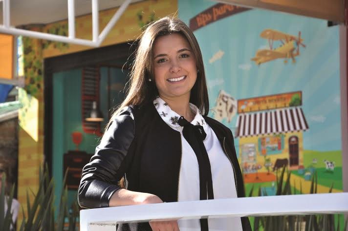 Valentina Facundo, creadora de la galería Cuadrarte