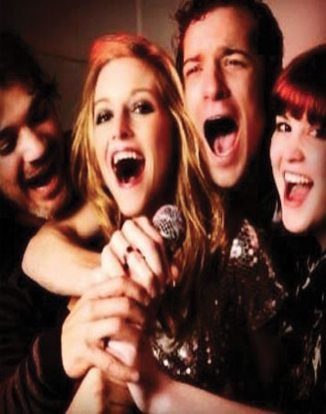 Karaoke en el Hard Rock Café