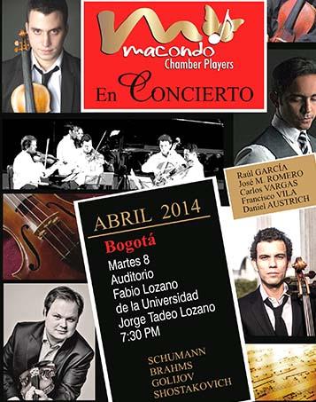 Macondo Chamber Players en Bogotá