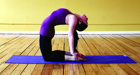 Iyengar yoga Con Chantal Gomez
