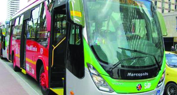 Buses duales y  ecológicos para Bogotá