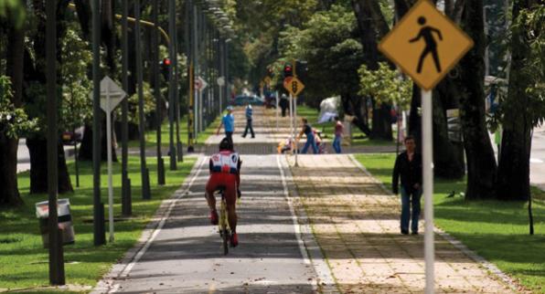 Bicicorredor en El Virrey