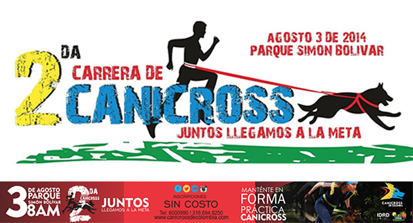 Carrera recreativa con mascotas CANICROSS