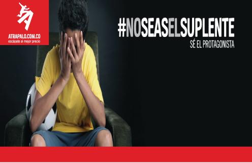 #NoSeasElSuplente/Atrápalo