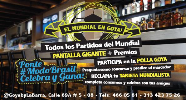 Tradición Mundial en Goya By La Barra