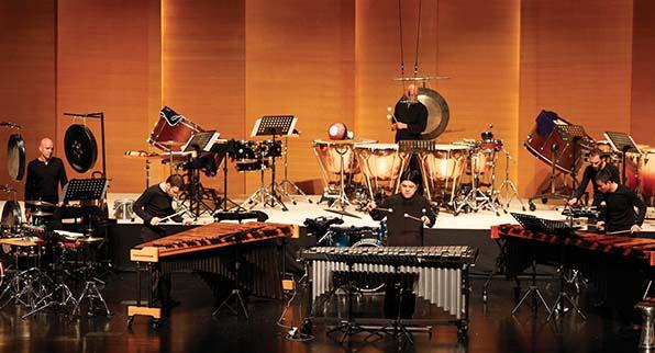 Grupo de percusión de Li Biao