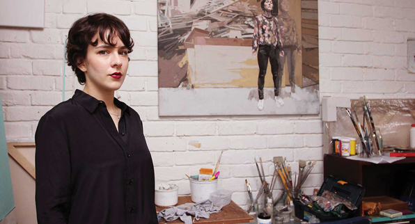 Rossina Bossio, artista bogotana