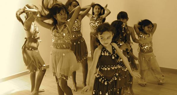 Danza árabe para niñas