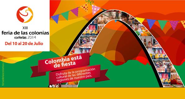 XIII Feria de las Colonias 2014