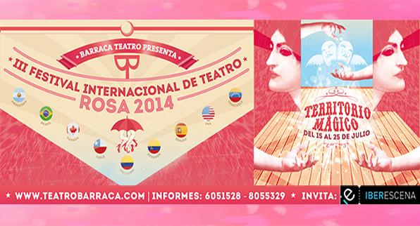 III Festival Internacional de Teatro Rosa