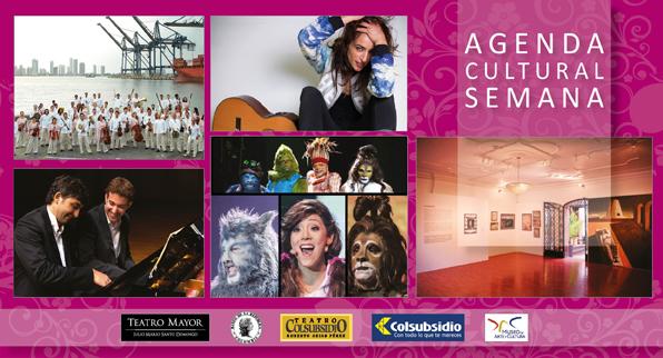 Agenda cultural GO de la semana
