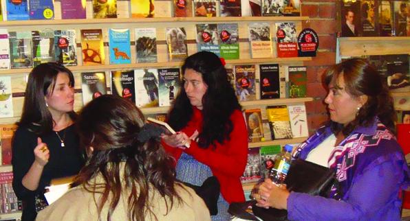 Conversación literaria del Club en el Ático