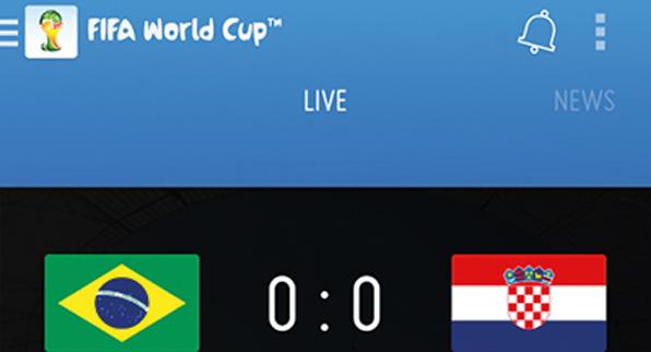 Apps para vivir el Mundial