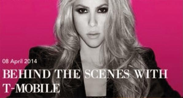 La app de Shakira