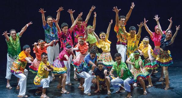 35 años Ballet Tierra Colombia