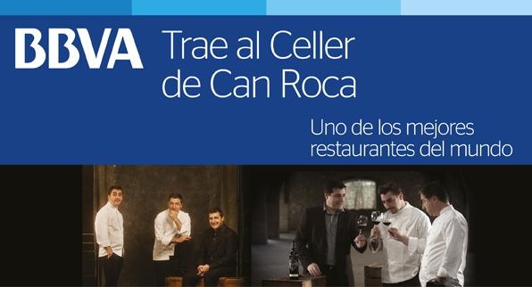 BBVA y El Celler de Can Roca, el mejor restaurante del mundo.