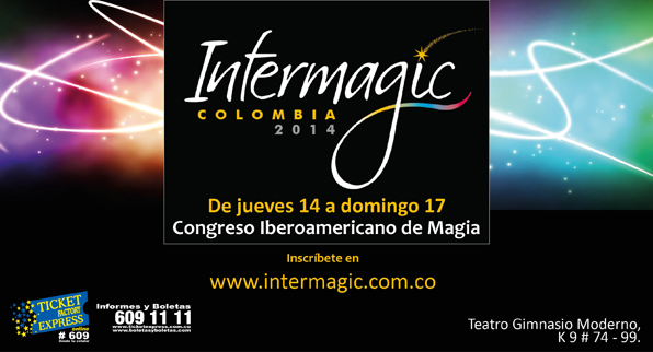 ¡Intermagic se toma Bogotá por arte de magia!