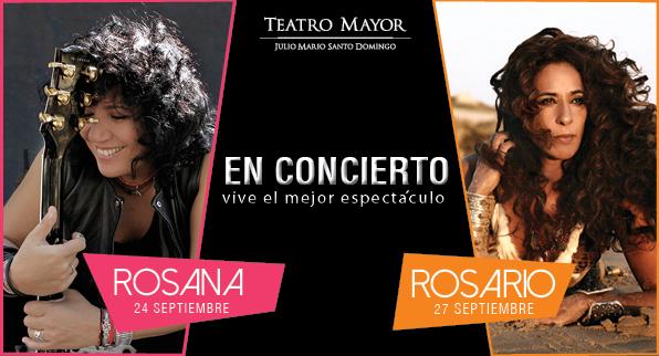 Rosana y Rosario en el Teatro Mayor