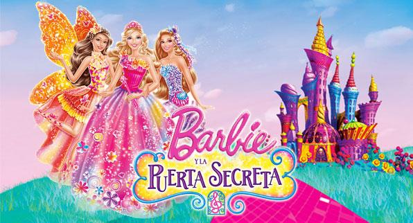 Llega en aGOsto la nueva pelicula de la muñeca más famosa: Barbie y la Puerta Secreta