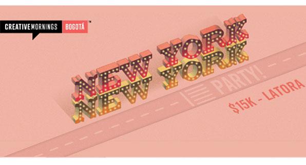 ¡CreativeMornings / Bogotá se va de fiesta!