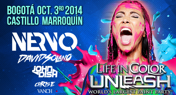 """Life in Color """"World's Largest Paint Party"""""""