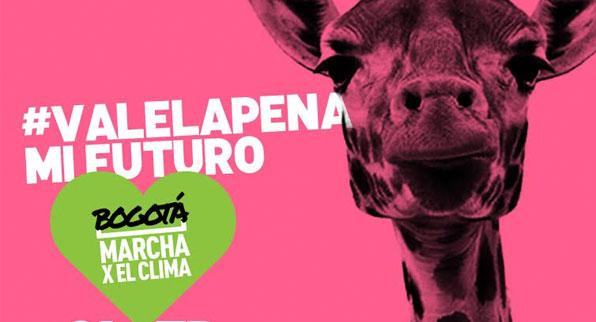 Bogotá Marcha Contra el Cambio Climático
