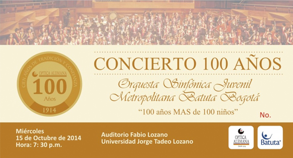 """""""Concierto 100 Años"""""""