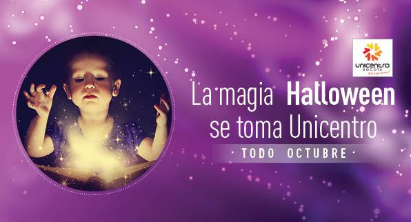 La magia  Halloween se toma Unicentro
