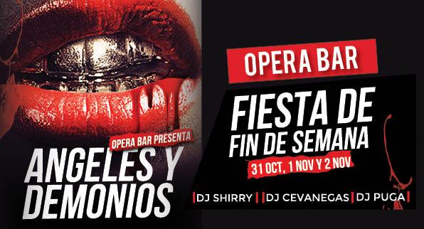 Vive este Halloween con Ópera Bar