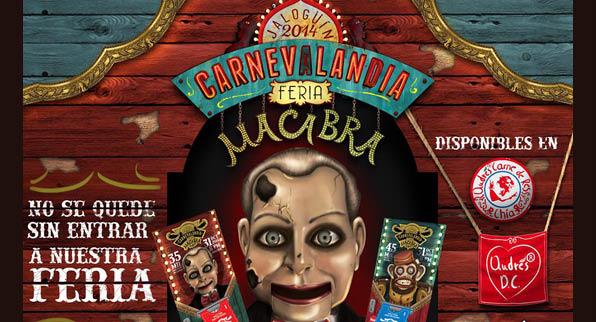 Carnevalandia Feria Macabra
