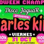 Halloween Champetuo en Disco Jaguar