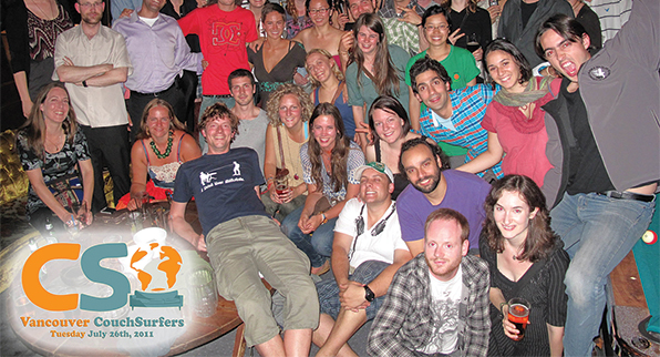 Couchsurfing, travelers virtual community