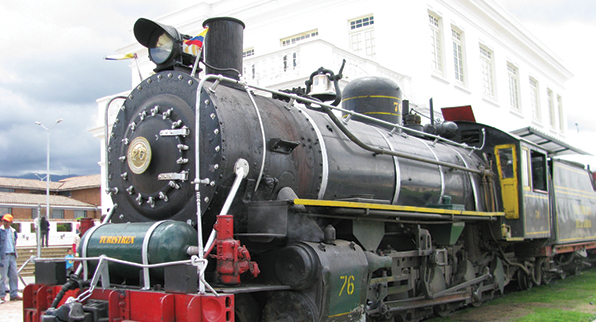 Round-trip Tour to Zipaquirá on steam train