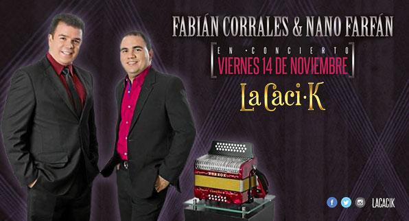 Fabián Corrales y Nano Farfán