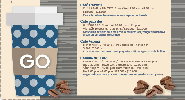 La ruta del café en Bogotá
