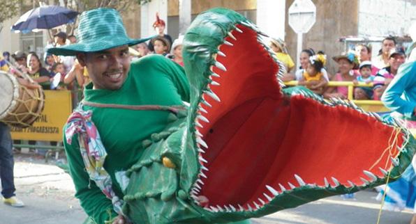 Festival de la Leyenda del Caimán Cienaguero en Magdalena