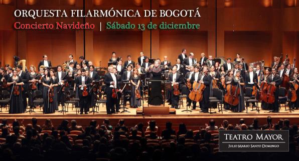 Orquesta Filarmónica de Bogotá, concierto navideño