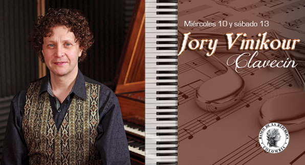 Concierto Jory Vinikour, clavecín