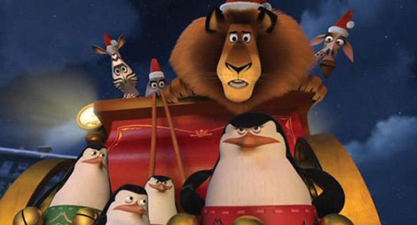 Madagascar, serie navideña