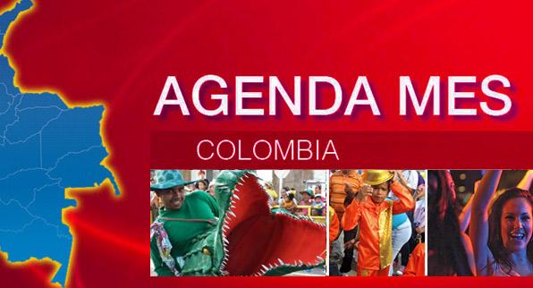 Agenda Colombia 15 al 31 de Enero