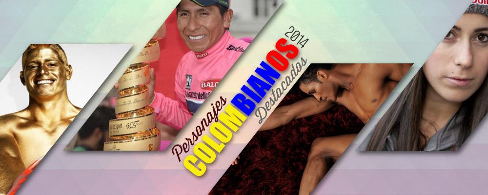 Personajes colombianos destacados en 2014