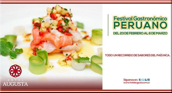 El buen arte de la cocina peruana llega al Hotel Augusta