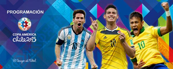 Programación Copa América 2015