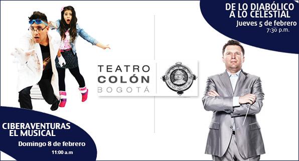 Prográmate con el Teatro Colón