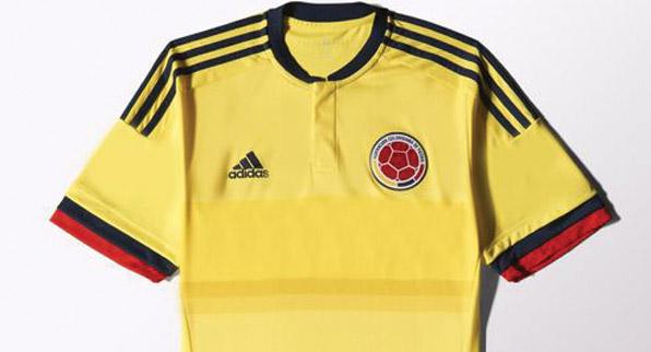 Nueva camisa de la Selección Colombia