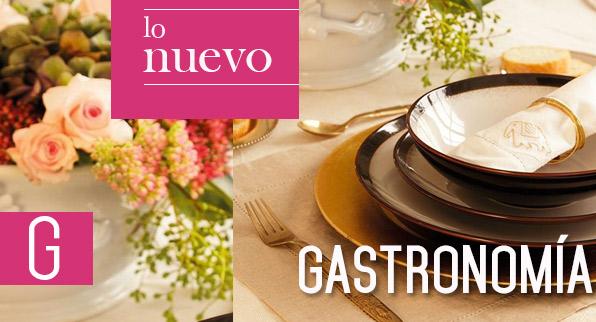 Lo nuevo en Gastronomía