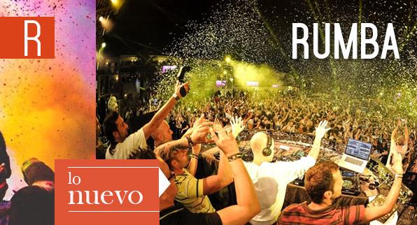 Rumba, lo nuevo en marzo