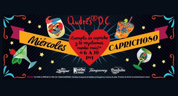Miércoles Caprichoso en el Cielo de Andrés D.C