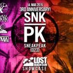 Aniversario de Sneakpeak