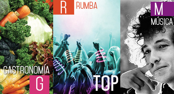 TOP: Gastronomía + Rumba + Música